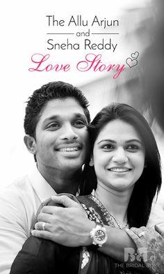 The Allu Arjun And Sneha Reddy Love Story