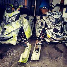 I want these sled wraps!