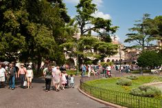 Parco nella Piazza Bra´ (Verona, Italy)