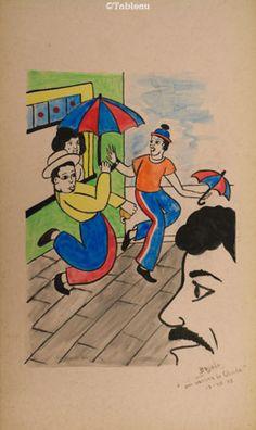 Bajado. Frevo (1973). 45x26 cm