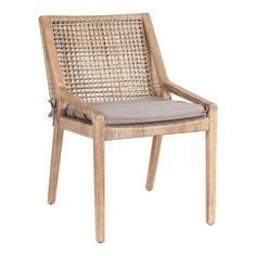 Weave Dining Chair of Crafted Acacia - Early Settler Rattan Dining Chairs, Outdoor Tables And Chairs, Dining Room Table, Traditional Dining Tables, Woven Chair, Outdoor Furniture, Outdoor Decor, Outdoor Spaces, Square Tables