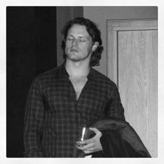 Sam Heughan in all of his glory!