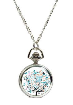 Tree of Life Fob Watch Pendant Necklace. Available at www.allgiftsonline.com.au