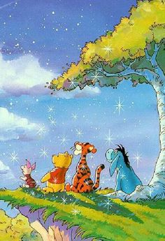 Winnie the Pooh and friends. ❣Julianne McPeters❣ no pin limits