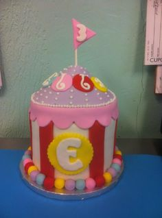 Circus Big-top Cake   www.sweetnessbakeshop.net  facebook.com/sweetnessbakeshop