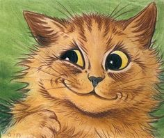 Louis Wain. Wicked Satisfaction.