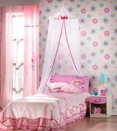 decoracion cuarto de niña estilo princesa