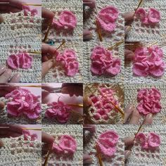 Crochet Flower - #diy, Crochet, flower