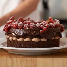 Gateau Moeleux au Chocolat - Eric Landlard Recipes
