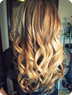 blonde ombre! really hoping my hair looks this good after my color today!