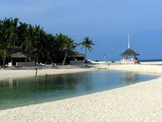 Kota Beach in Bantayan Island, Cebu. - the best banana shake found here..