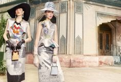 Cintia & Giuliana Caramuto Are Outrageous Ladies by Luciana Val & Franco Musso for Vogue Turkey April2013 - 10 Fashion Mavericks, Our Plane...
