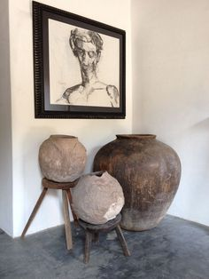 Artefakto Detail: antique pots from southern Mexico charcoal drawing by Juan Carlos Cázares Home Interior Design, Interior And Exterior, Interior Modern, Interior Decorating, Keramik Design, Beton Design, Wabi Sabi, Home Decor Inspiration, Design Inspiration