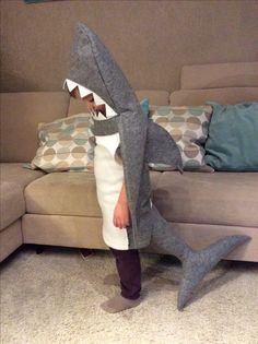 #shark#costume#diy