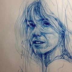 Wonderful drawing as always, by Alvin Chong. Art And Illustration, Illustrations, Portrait Sketches, Pencil Portrait, Figure Drawing, Painting & Drawing, Scribble Art, Ap Art, Drawing Techniques