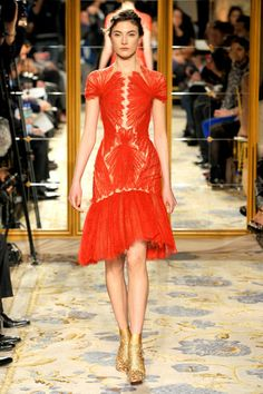 Marchesa. Emma Stone will totally wear this to one of the second-tier Spider-Man premieres, amirite?
