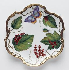 Gracious Style specializes in high end furnishings for your home, including fine linens, luxury dinnerware, and special gifts. Butterfly Dragon, Butterfly Frame, Red Dinner Plates, Red Dinnerware, Dutch Still Life, Dessert Aux Fruits, China Painting, Artist Painting, Fine Linens