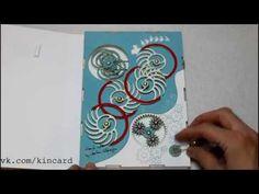Удивительные механические открытки - кинкард №4 - YouTube