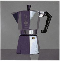 Graham Spice ~ Espresso ~ Linocut, 29 x 29 cm