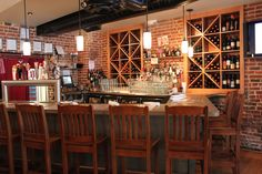 Overwood - Wood-fired American kitchen and bar featuring modern interpretations of classics using the freshest ingredients. Accommodates groups up to 70.