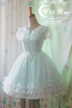 Powder blue lolita dress