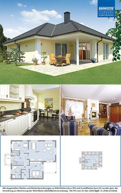 3d House Plans, House Layout Plans, Bungalow House Plans, Family House Plans, Dream House Plans, House Layouts, Affordable House Plans, Three Bedroom House Plan, Architectural House Plans
