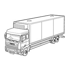 Top 25 Free Printable Truck Coloring Pages Online Truck Coloring