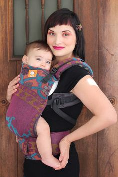 (Standard Size) Full Wrap Conversion Tula Baby Carrier - Didymos Orient