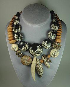 Necklace |  Jan Geisen.  Polymer Clay
