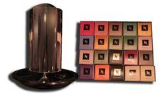 Nespresso TOTEM Glass Collection with 200 Nespresso Capsules 16 Grands Crus - http://nespressoshop.net/nespresso-totem-glass-collection-with-200-nespresso-capsules-16-grands-crus