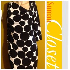 ⏬Reduced⏬Gorgeous Black And White NWOT ❤ Brand New, Never Worn ❤ Express Dresses