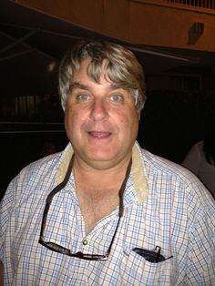 David Stevens, Master of all things wine, at the Onion Party