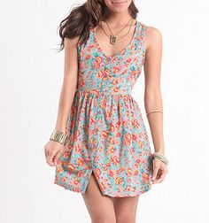 Billabong Summer Fun Sleeveless Dress $42.00