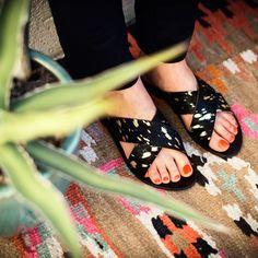 Nine West Women/'s chaux métallique à talon sandale