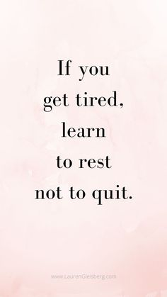 BEST MOTIVATIONAL & INSPIRATIONAL GYM / FITNESS QUOTES - if you get tired, learn to rest not to quit