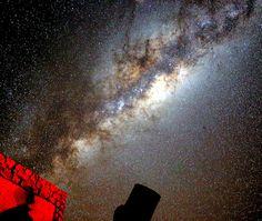 Night sky over Namib Desert
