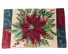 Home Traditions Christmas Tapestry Placemat Set 4pc- Pointsettia Home Traditions http://www.amazon.com/dp/B00OO3BI2I/ref=cm_sw_r_pi_dp_baptub1QBFW2R