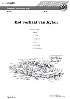 Actueel en gratis dossier voor het 4e, 5e en 6e leerjaar - thema vluchtelingen - wereldoriëntatie - WO - mens en maatschappij - Mundo - actualiteit in de klas