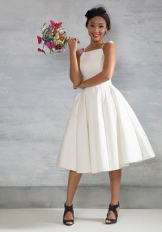 Beloved and Beyond Dress in Ivory - Solid, Wedding, Bride, Sleeveless, Spring, Woven, Best, Cream, Long