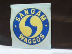 Girl Scout Guides Patch Sangam India WAGGGS World Association Badge