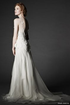 More lovely looks from Anais Anette Fall 2014 bridal collection. Above and below, Lisette lace gown. Wedding Dress Boutiques, Wedding Dresses 2014, Bridal Dresses, Bridesmaid Dress Styles, Blush Bridal, Wedding Looks, Wedding Stuff, Dream Wedding, Bridal Boutique