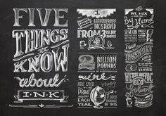 Typography / 003_Ink_type — Designspiration