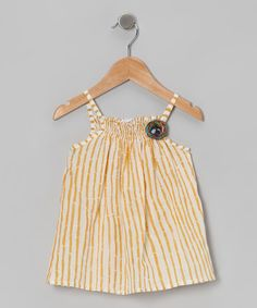 Take a look at this Bamboo Shirred Tunic - Infant, Toddler & Girls by Handprint on #zulily today!