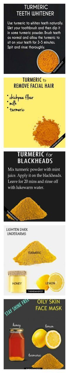 Turmeric Beauty Uses