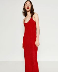 Image 2 of LIMITED EDITION DOUBLE STRAP DRESS from Zara
