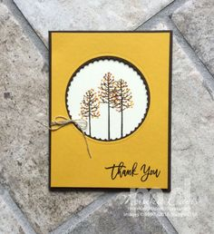 Thoughtful Branches – Stamping Together At Monika's Place