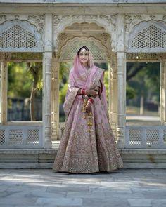 Bollywood Wedding, Wedding Hijab, Desi Wedding, Wedding Looks, Wedding Outfits, Pink Lehenga, Bridal Lehenga, Pakistani Dress Design, Pakistani Dresses