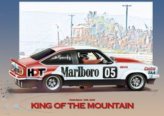 Racing Team, Road Racing, Holden Australia, Car Prints, The Great Race, Aussie Muscle Cars, V8 Supercars, Australian Cars, Garage Art