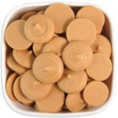 Peanut Butter Candy Melts 1 LB - delicious peanut butter flavored melting chocolate wafers for cakepops or chocolate making Chocolate Candy Melts, Chocolate Wafers, Chocolate Molds, Melting Chocolate, Yummy Treats, Delicious Desserts, Sweet Treats, Yummy Food, Candy Recipes
