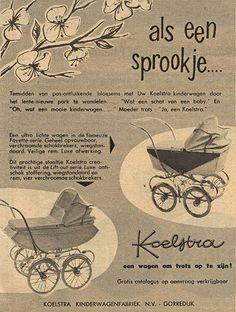 Reclame van toen : Kinderwagen-Nostalgie.Com